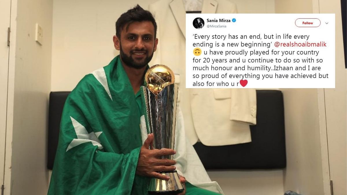 Proud of Everything You Achieved: Sania's Message to Shoaib Malik