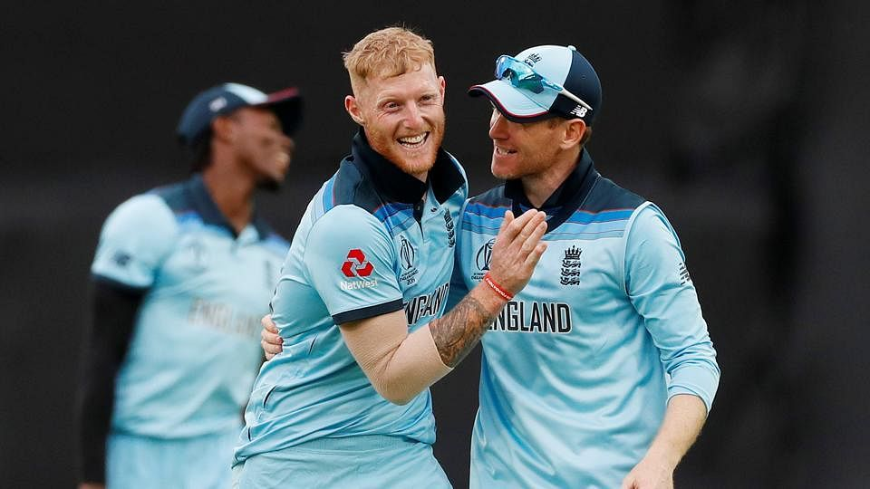 Morgan attributed it to Ben Stokes' qualities as a team-man after the World Cup game.