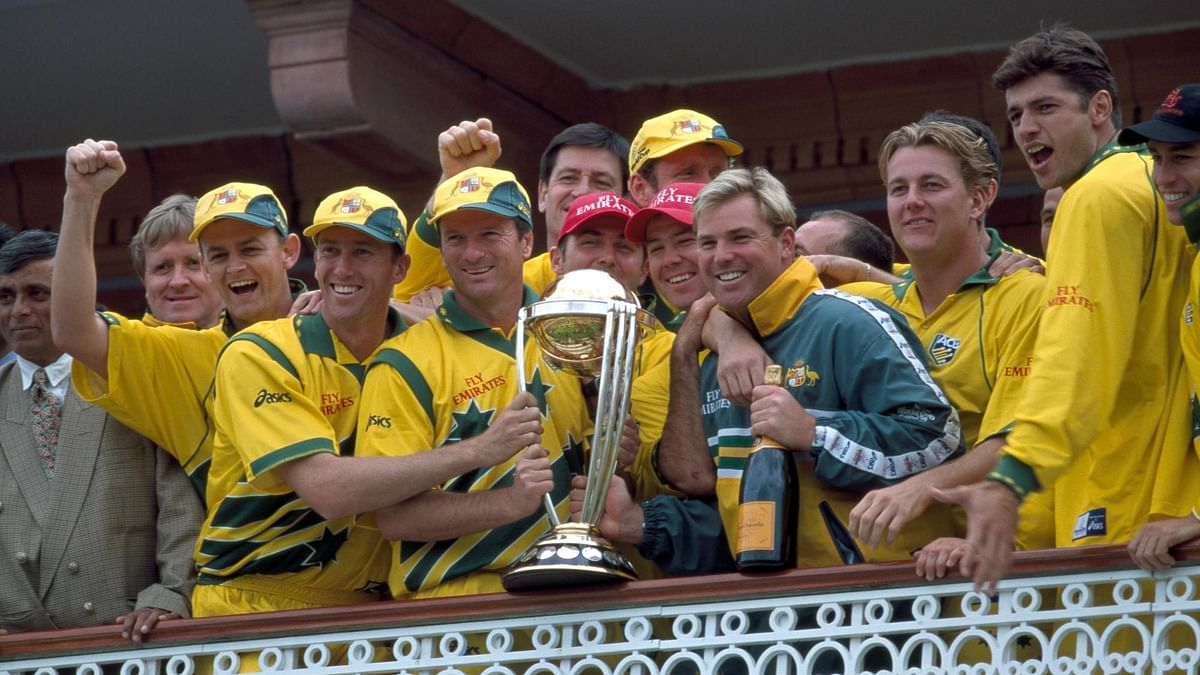 Steve Waugh led Austtralia to their second World Cup title in 1999.