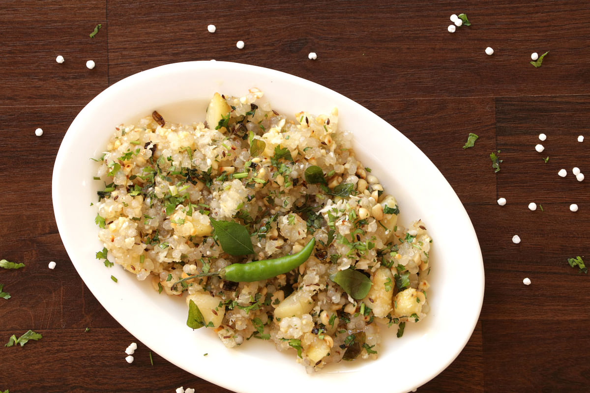 Sabudana Khichadi is equally tasty and filling for a dish to eat during fasts.
