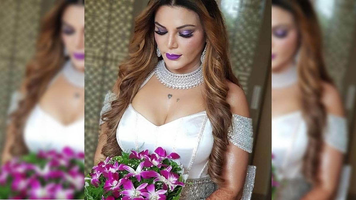 Did Rakhi Sawant Just Have a Secret Hotel Room Wedding?