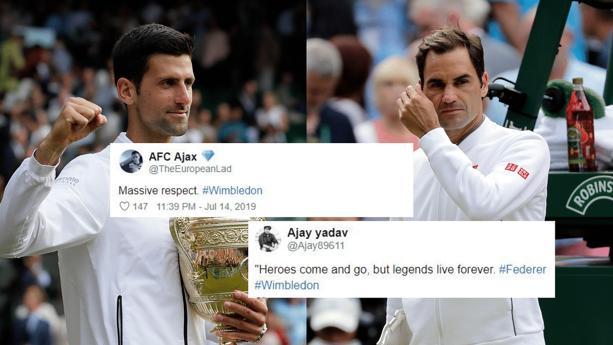 Of Legends and Icons: Netizens React to Wimbledon 2019 Final