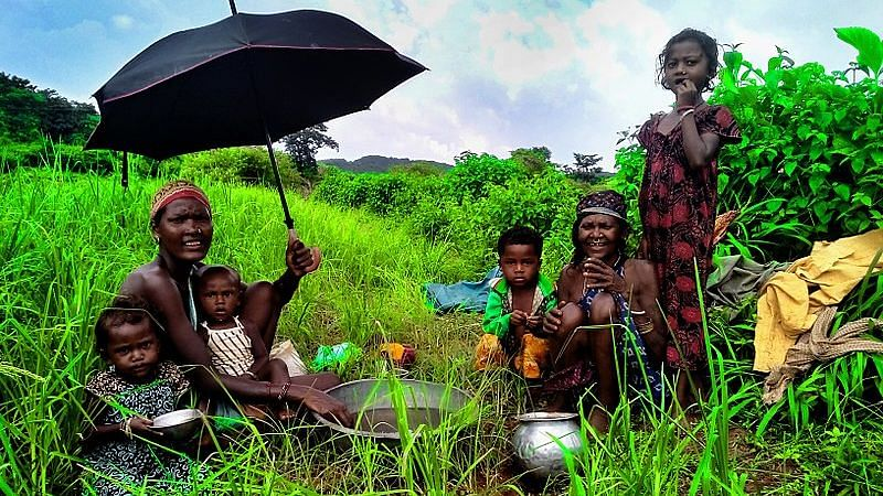 Tribal people of Koraput, Odisha.