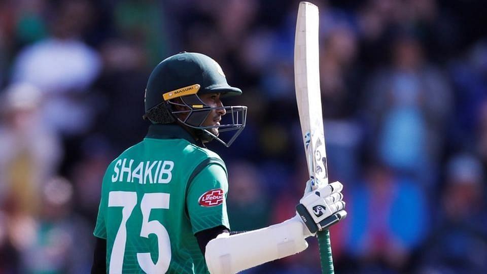 Shakib has scored scored 476 runs and taken 10 wickets so far in the tournament.