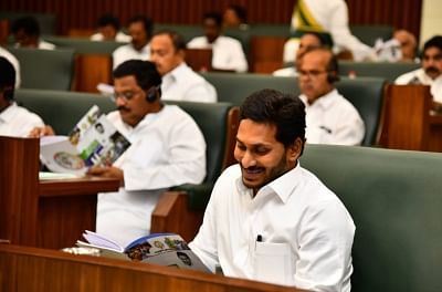War of words between Jagan and Naidu in Andhra Assembly
