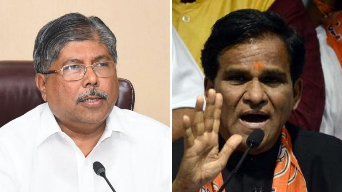 Chandrakant Patil Made Maha BJP Chief as Raosaheb Danve Resigns