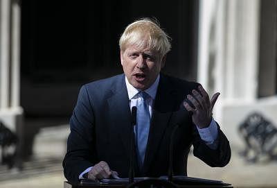 Boris Johnson. (Xinhua/Han Yan/IANS)