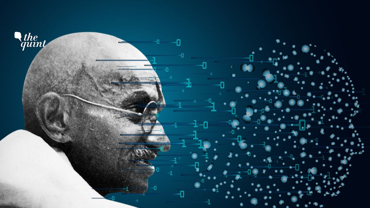 Gandhi Belongs To The Future, Not Past, Of Artificial Intelligence