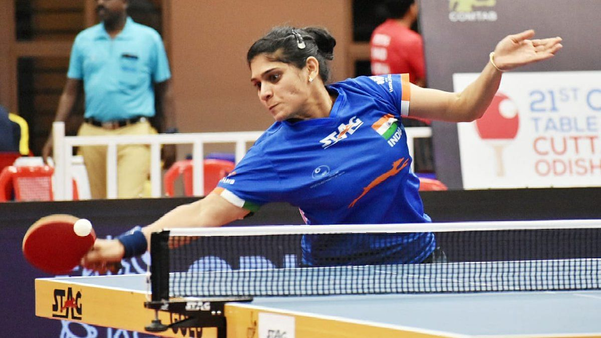 Madhurika downed Krittiwika Sinha Roy 4-1 to enter the semis of women's singles.