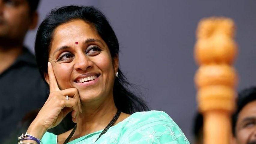 File image of NCP MP Supriya Sule.