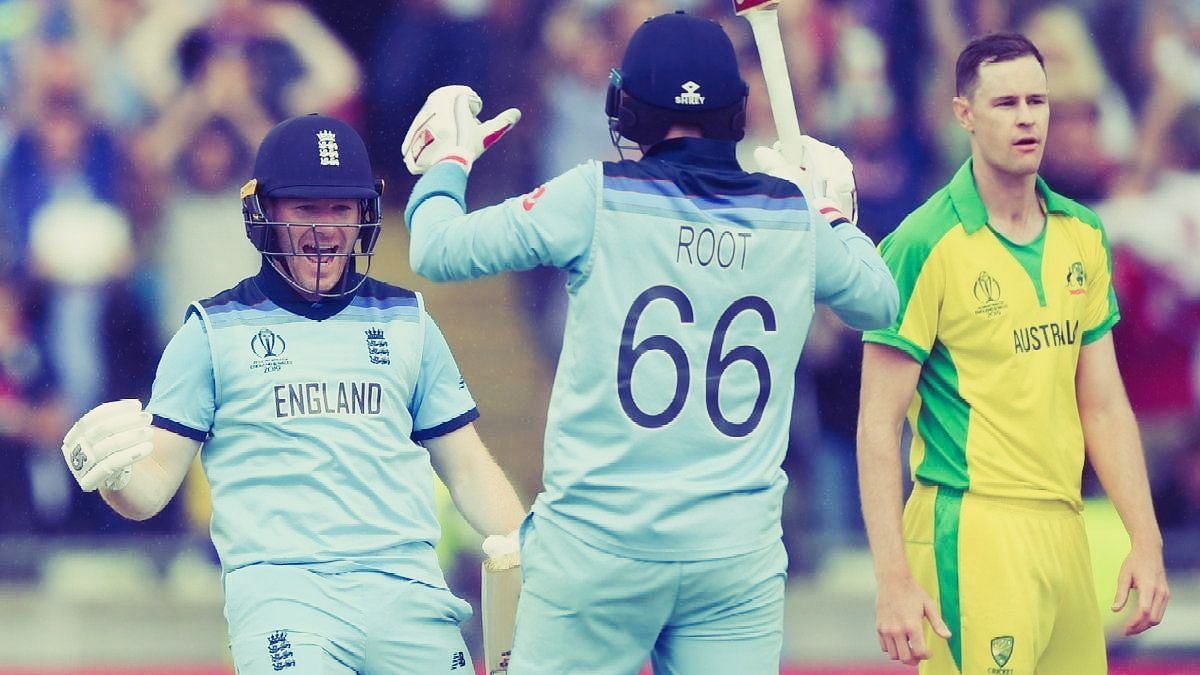 England beat Australia in the 2019 World Cup to bring an end to their winning run in World Cup semifinals.