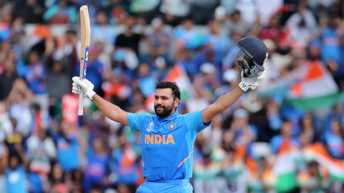 Rohit Sharma scored his fifth century at the ongoing ICC World Cup.