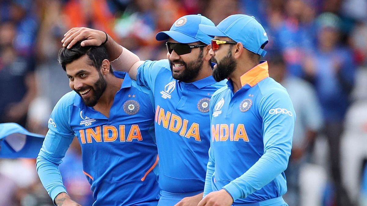 Playing his first World Cup game, Jadeja finished with figures of 1 for 40.