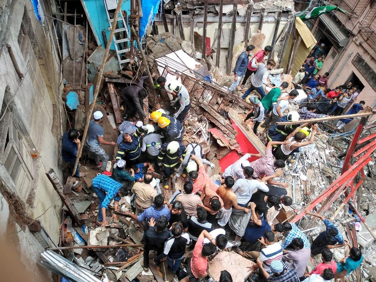 "BMC identified the Kesarbhai building that collapsed in south Mumbai's Dongri as a ""dangerous structure""."