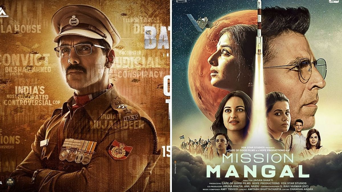 Box Office: 'Mission Mangal', 'Batla House' Expected to Open Well