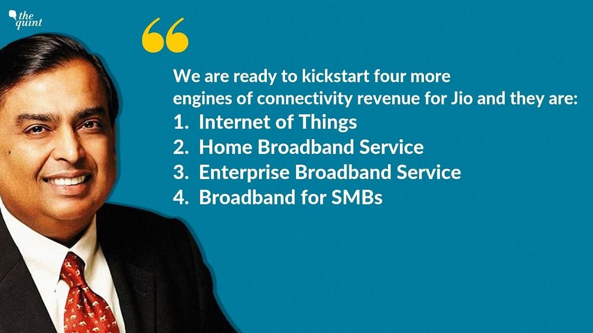 What Jio plans to offer in the next few years.
