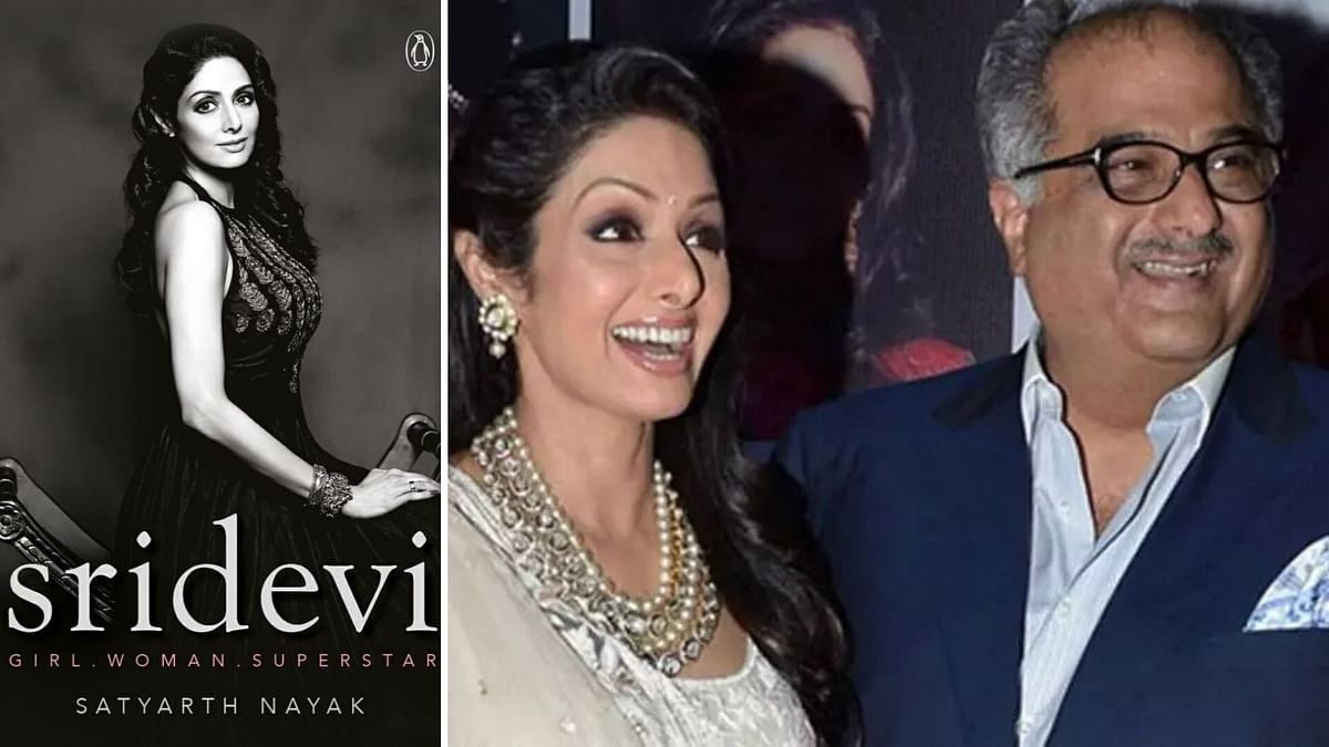 Book on Sridevi Approved by Boney Kapoor Announced on Her Birthday