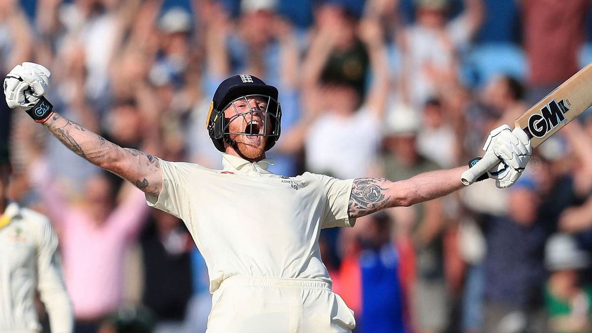 Ben Stokes leant back on aching legs and thrust his clenched right fist into the air, letting out a guttural roar.