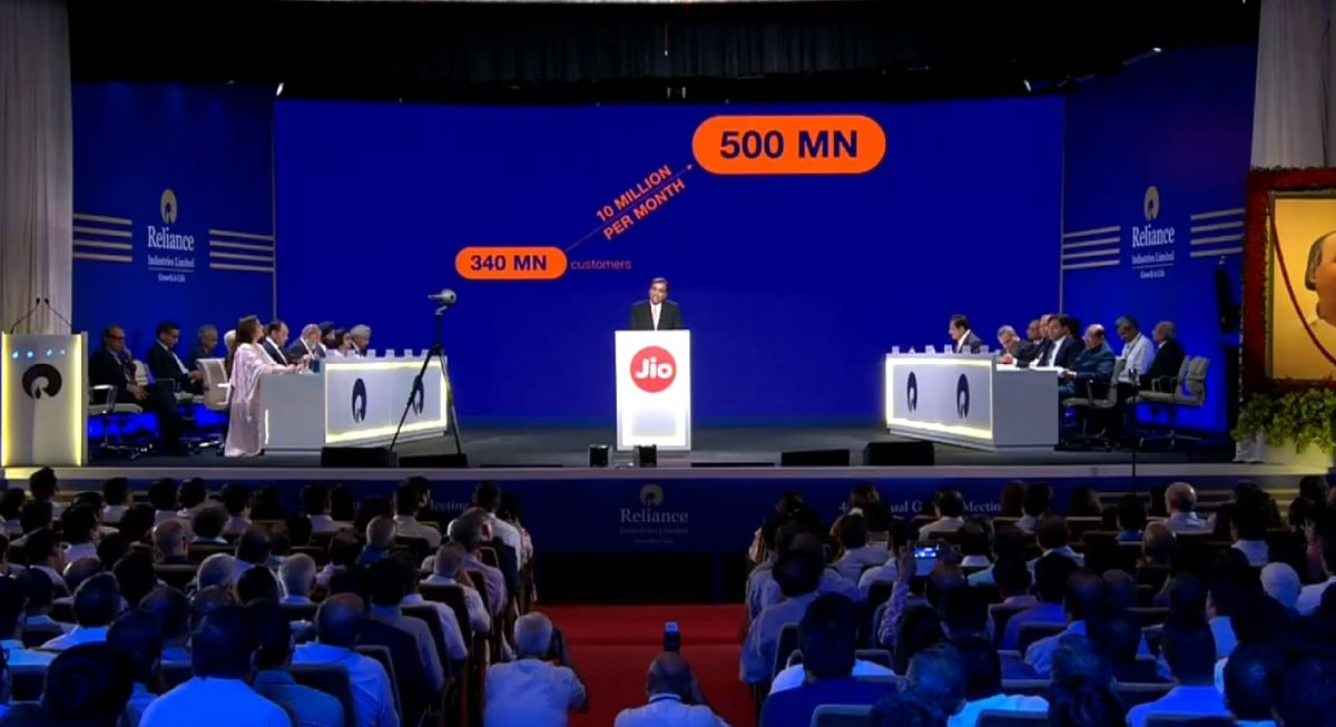New target for Reliance Jio in the coming years.