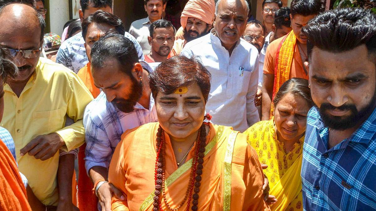 Pragya Thakur Files Complaint in Bhopal Over Abusive Phone Calls