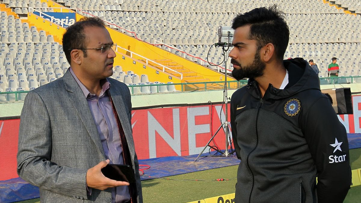 Using Humour, Sehwag Expresses Desire to Become Selector