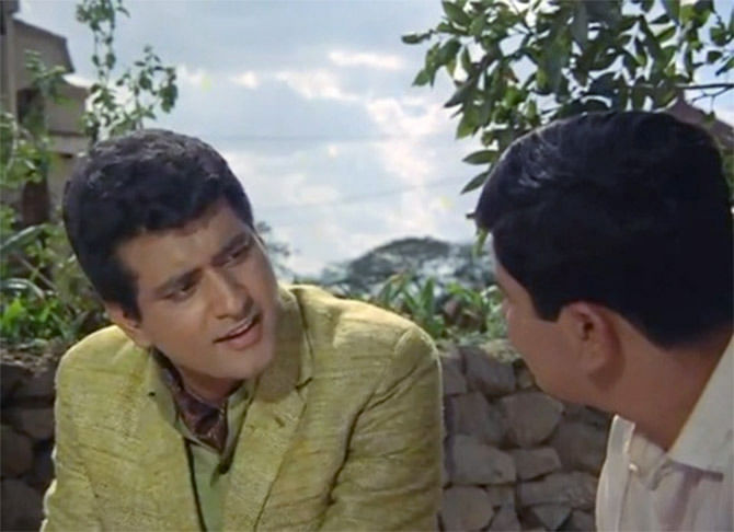 Manoj Kumar in a still from <i>Mera Naam Joker</i>.