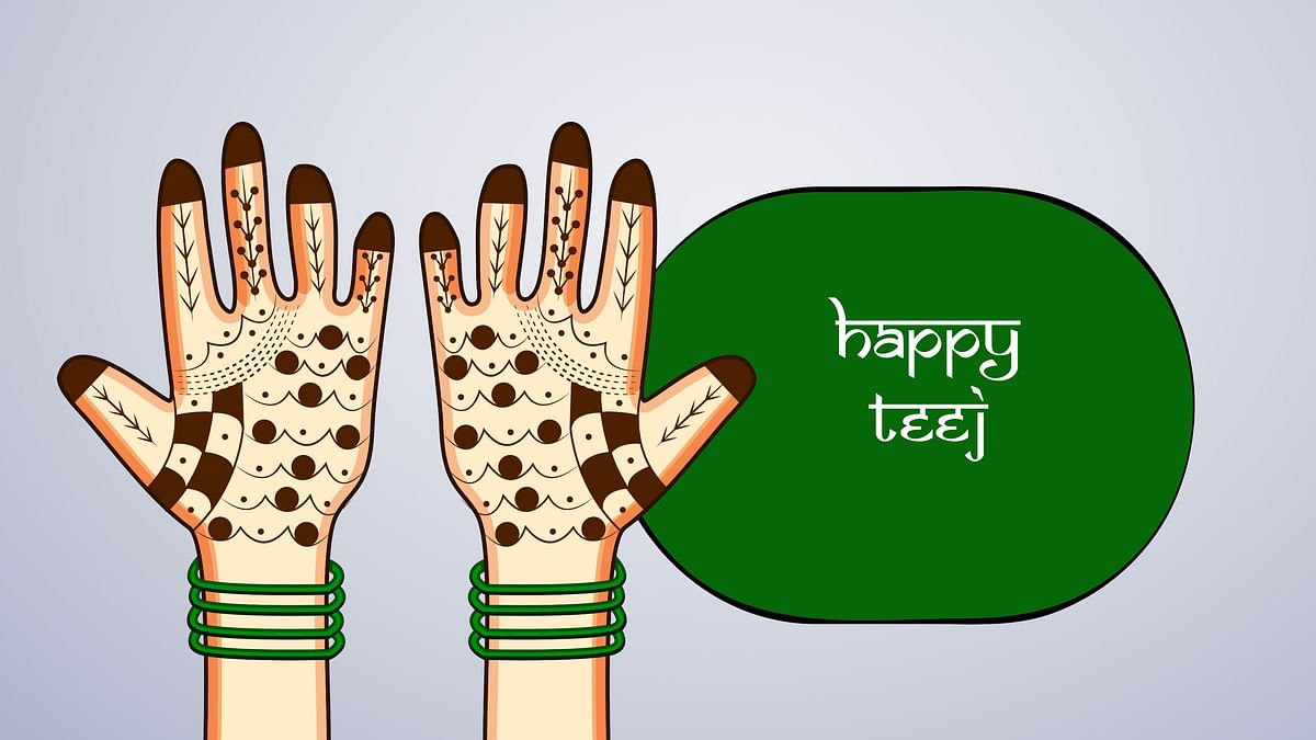Hartalika Teej wishes for your loved ones.