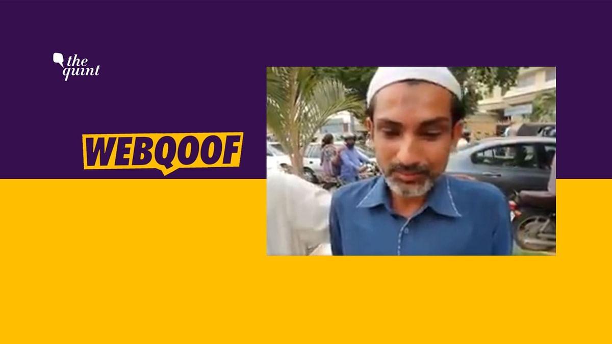 Karachi Protest Video Falsely Shared With 'Kashmir Burning' Claim