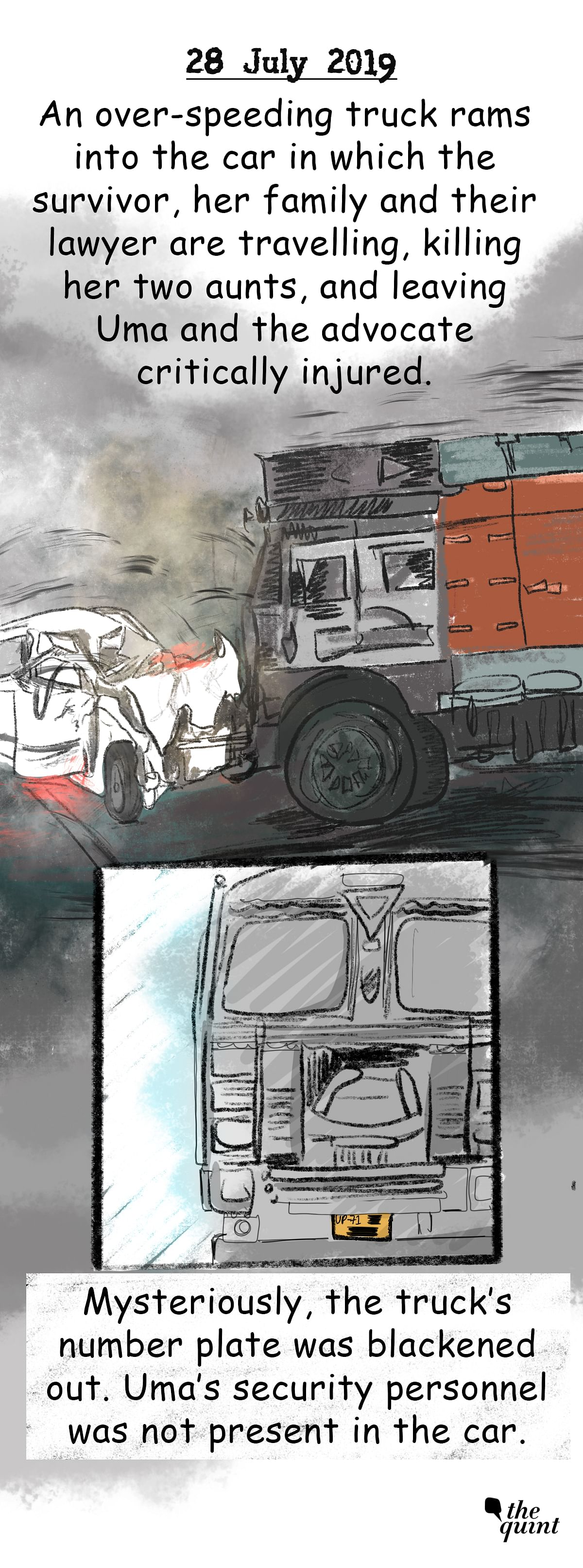 Graphic Novel: The Long Road to Justice For Unnao Rape Survivor