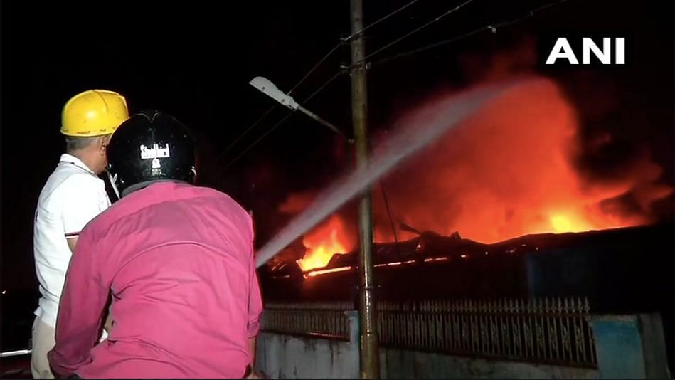 Fire Breaks Out at Methanol Warehouse in Greater Noida