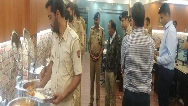 NSA Ajit Doval Meets With J&K Police on Eid, Joins Them for Meal
