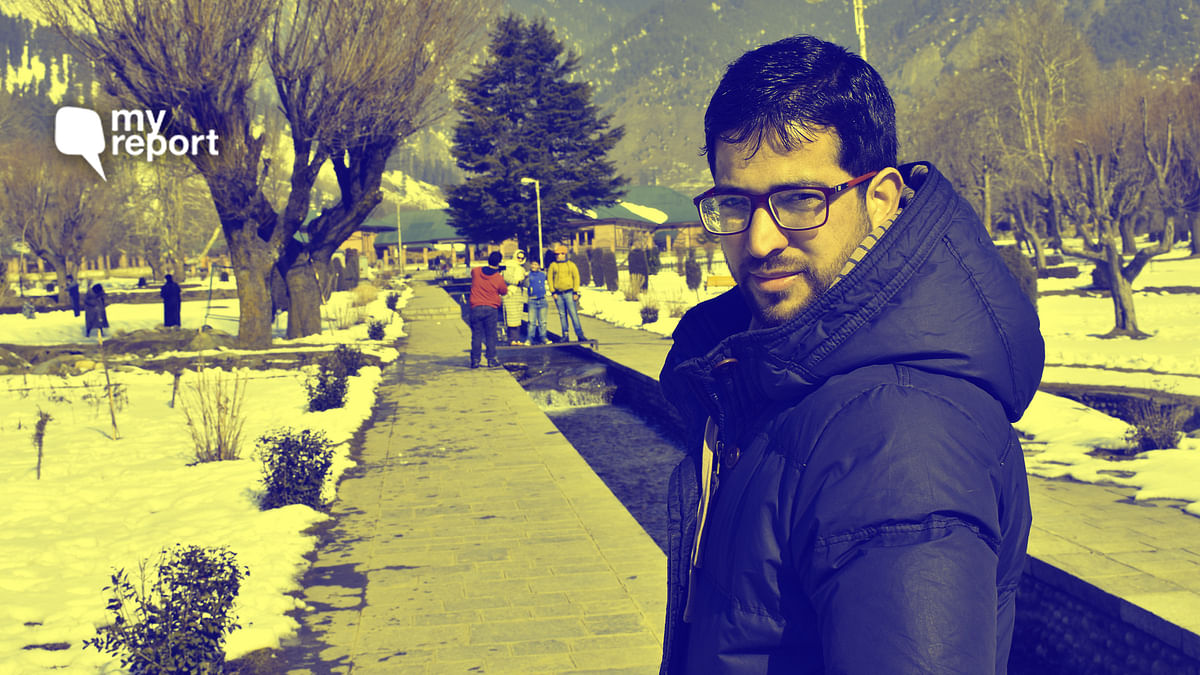 To My Beloved Fiancee in Kashmir, When Will I Hear from You Again?