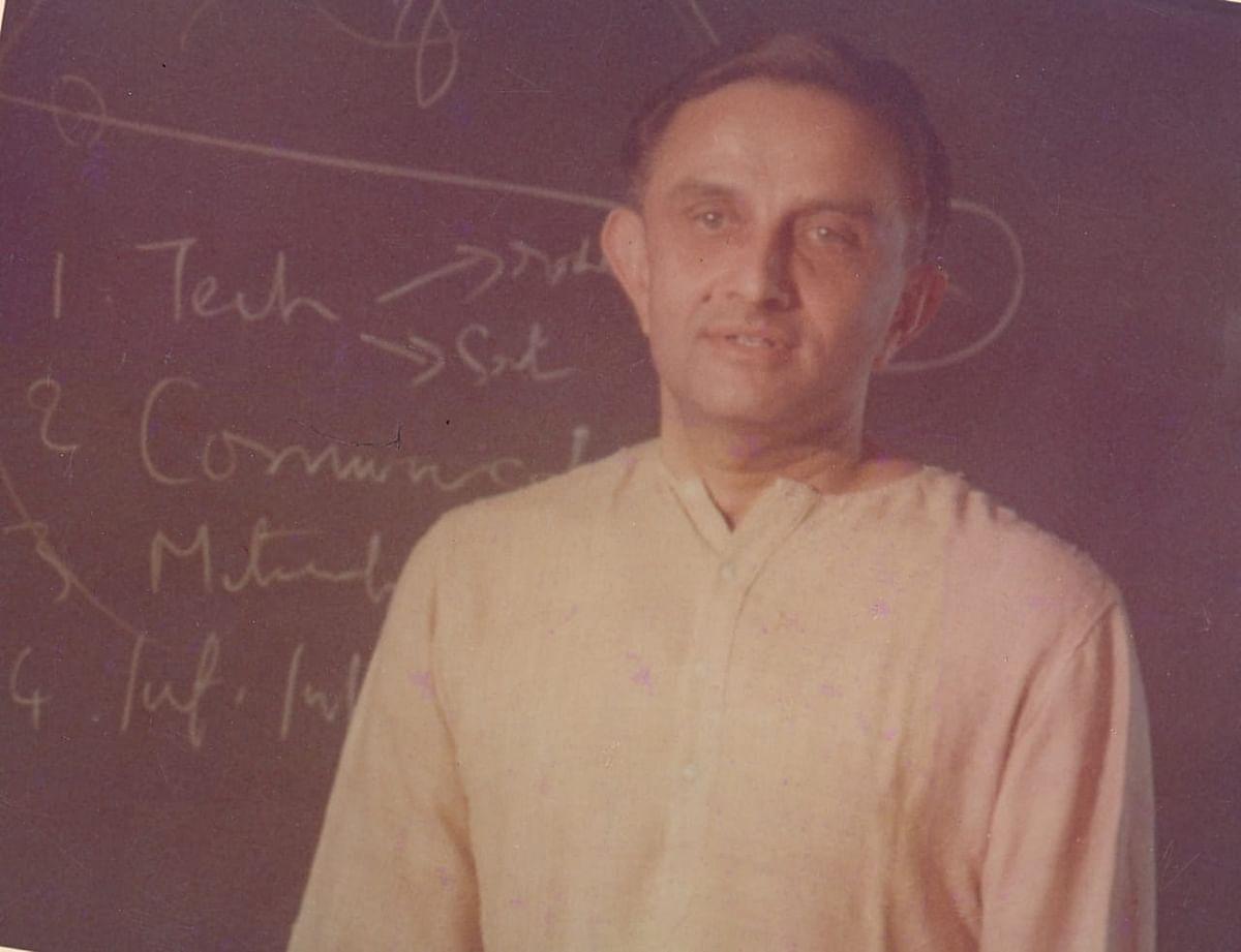 Vikram Sarabhai, the education visionary.
