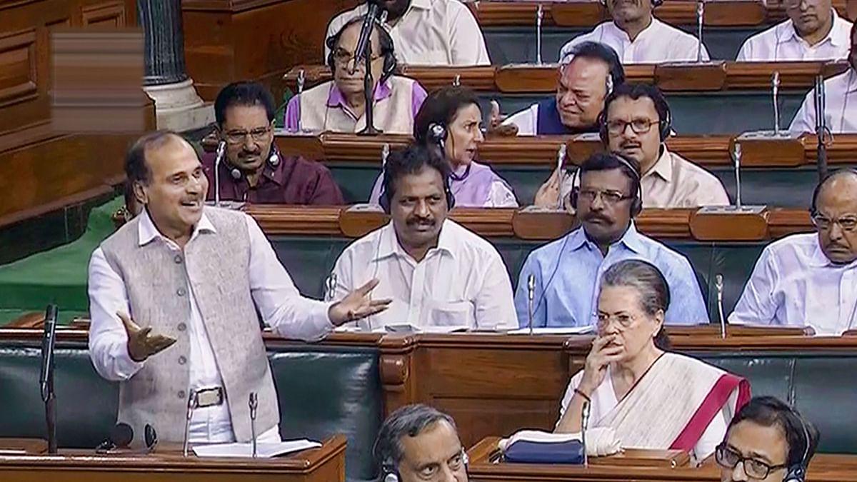 Sonia, Rahul 'Upset' as Chowdhury Asks Whether J&K Internal Matter