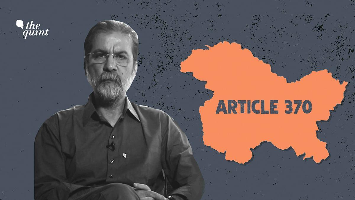 'Kashmir Is The New Ayodhya': Filmmaker Sanjay Kak on Article 370