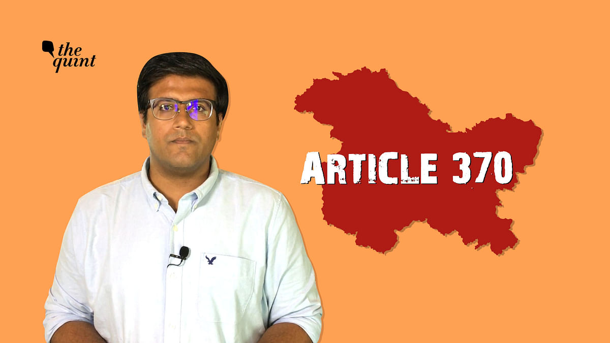 Did Govt Actually Revoke Article 370? Can the Order be Challenged?