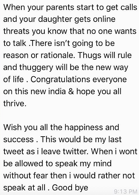 Anurag Kashyap Exits Twitter After Threat to Parents, Daughter