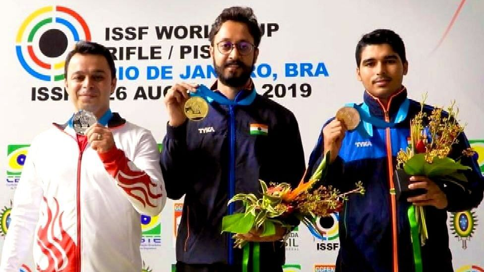 Verma Wins Gold, Chaudhary Settles For Bronze in Rio Shooting WC
