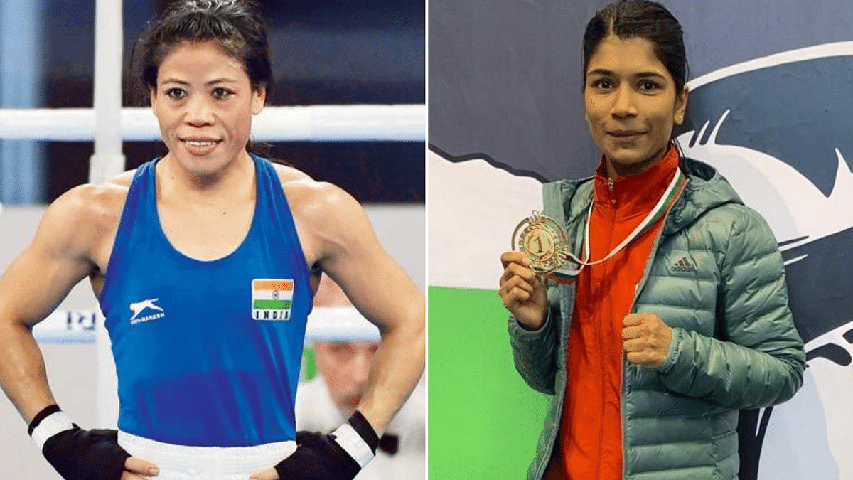 All the Best for Tokyo: Nikhat Zareen Wishes Mary Kom