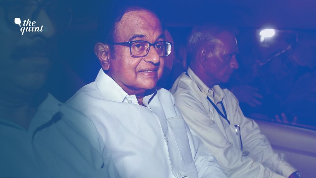 Chidambaram was arrested by CBI on Wednesday from his residence.