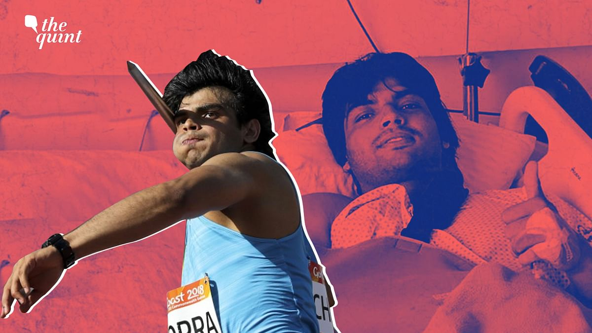 Despite going under the knife, javelin star Neeraj Chopra has not lost focus, still chasing his ultimate goal.