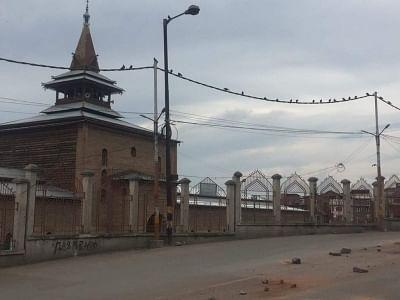 Kashmir schools open but students play shy