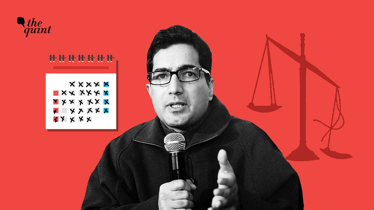 Delay in Hearing Shah Faesal's Detention Plea is Denial of Justice