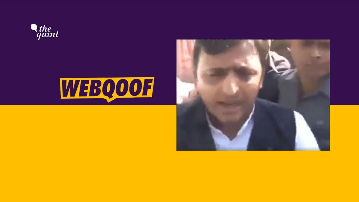Akhilesh Held for Protest Over Article 370? No, It's an Old Video