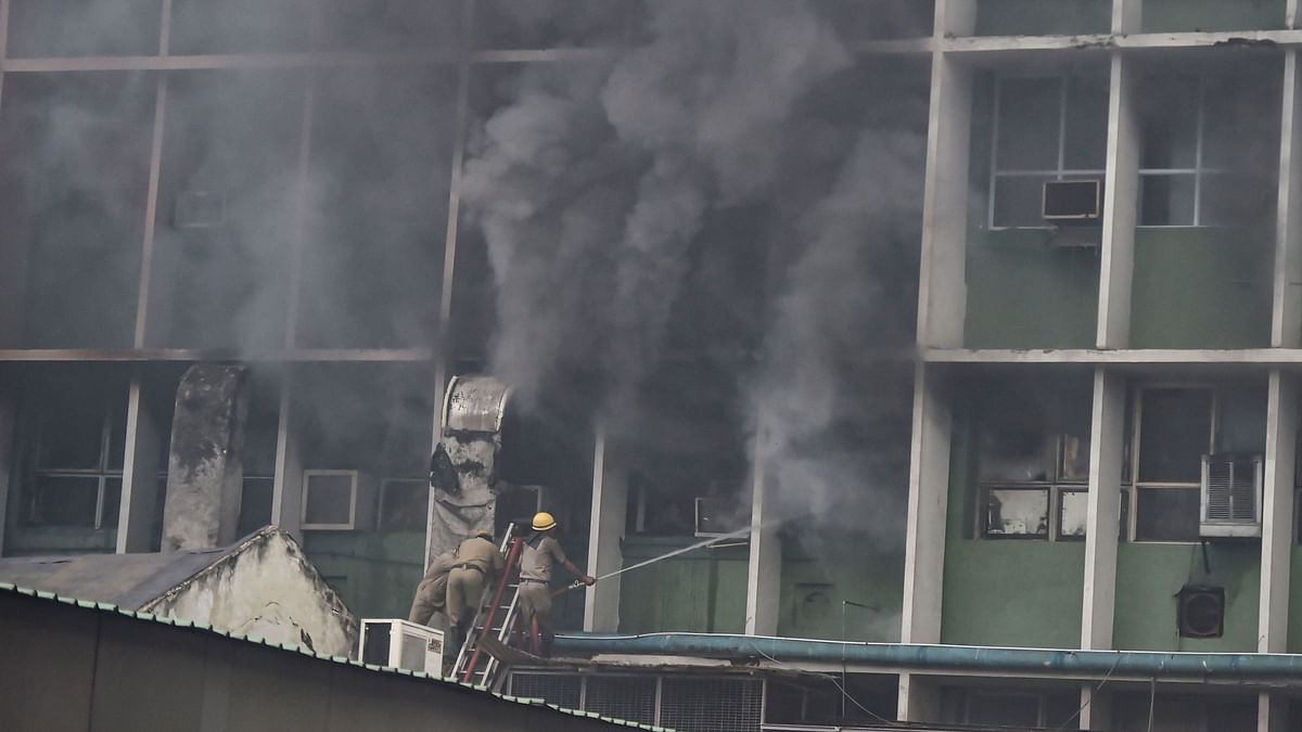 Fire at AIIMS Delhi Doused Completely, FIR Filed for Negligence