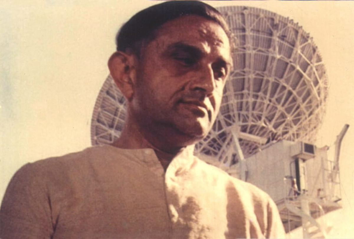Dr Vikram Sarabhai, the father of India's space research programme.