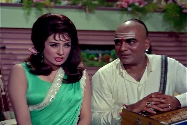 Saira Banu and Mehmood.