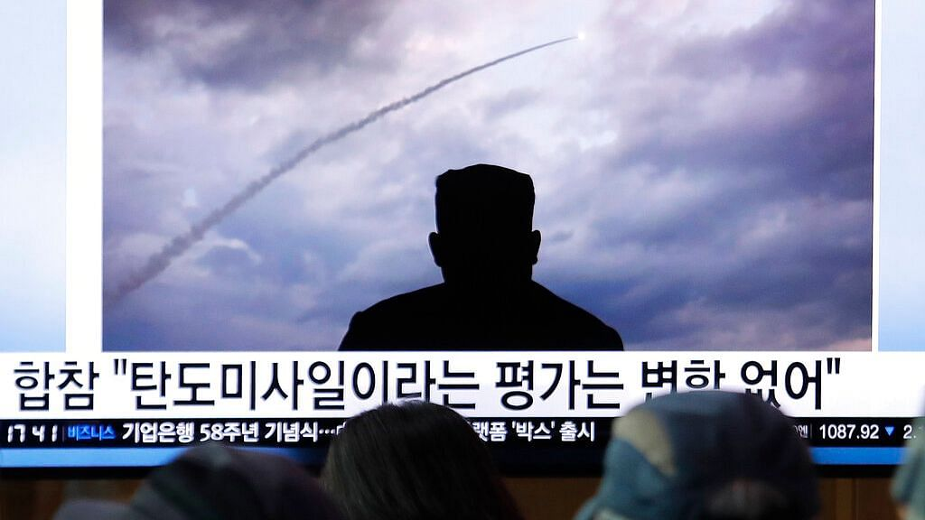 North Korea Launches Unidentified Projectiles into Sea of Japan