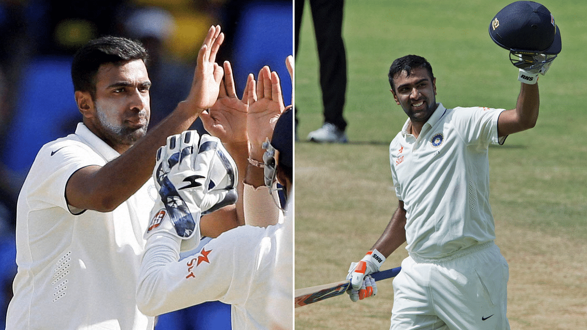 Last time India played at North Sound, Ashwin in the second innings) was adjudged the Man of the Match for his 113 and 7/83.