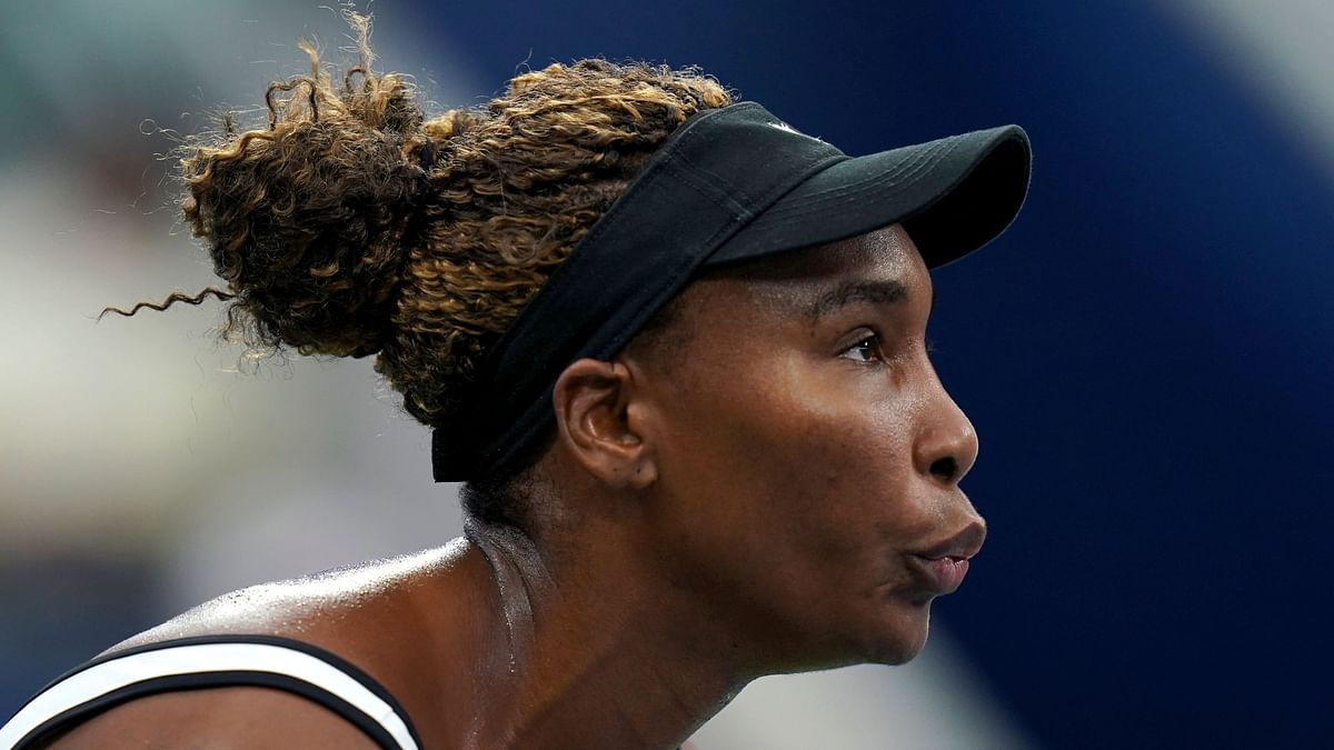 Venus Williams could not ever quite take control and lost 6-4, 6-4 to No. 5 seed Elina Svitolina.